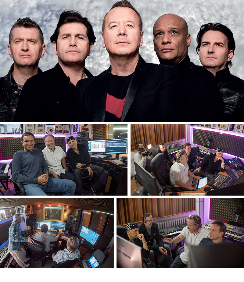 GLOBAL SUCCESS: Croatian production team PlayOne and Grammy Award winner Andy Wright working on couple of releases for the legendary band Simple Minds